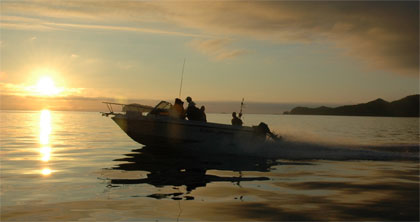 Fishing charters last until you land your salmon, halibut or other catch