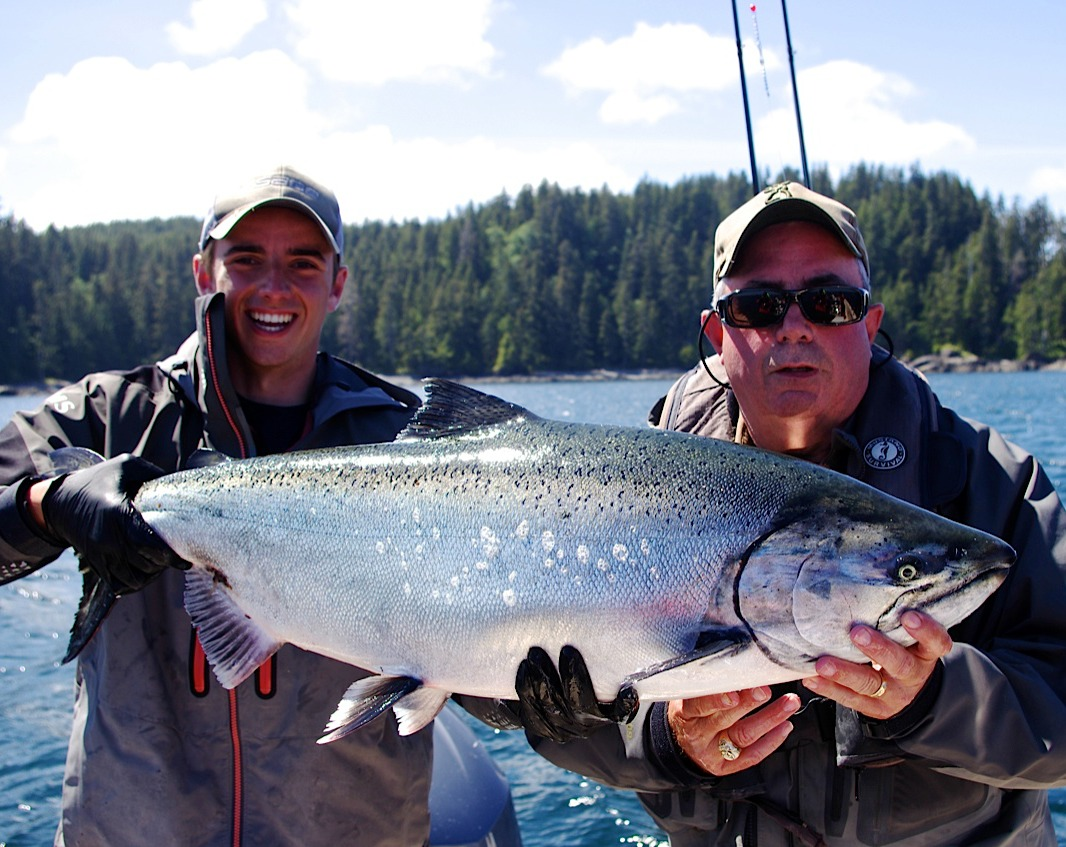 Vancouver Island fishing charter Captain Taylor Logan